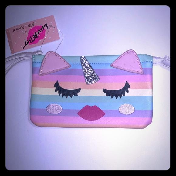Betsey Johnson Handbags - Betsey Unicorn Pouch/Wristlet